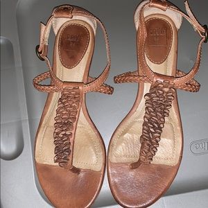 All leather Frye Sandals